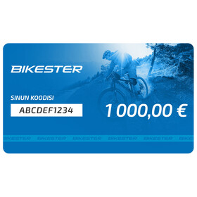 Bikester lahjakortti 1000 €